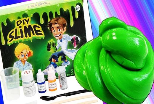 Алгоритм приготовления игрушки Diy slime