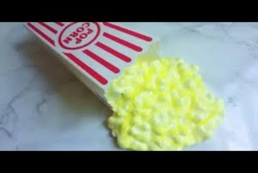 Попкорн слайм рецепт – способы создания лизуна
